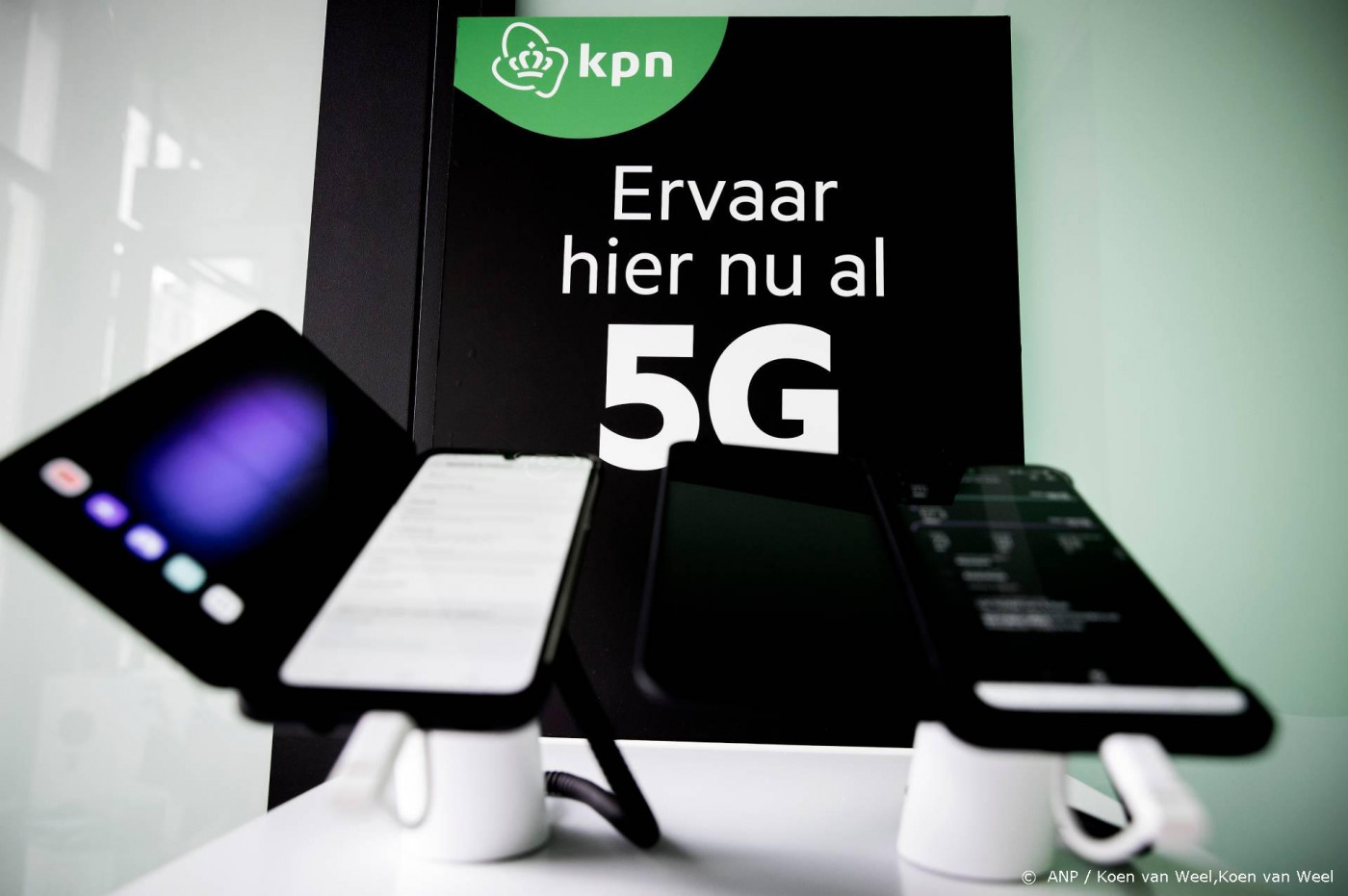 5G-netwerk KPN bereikt tweederde van Nederland