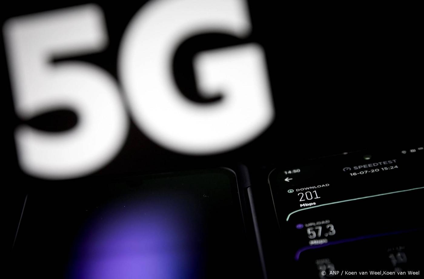 KPN: ruim helft zendmasten heeft 5G-apparatuur