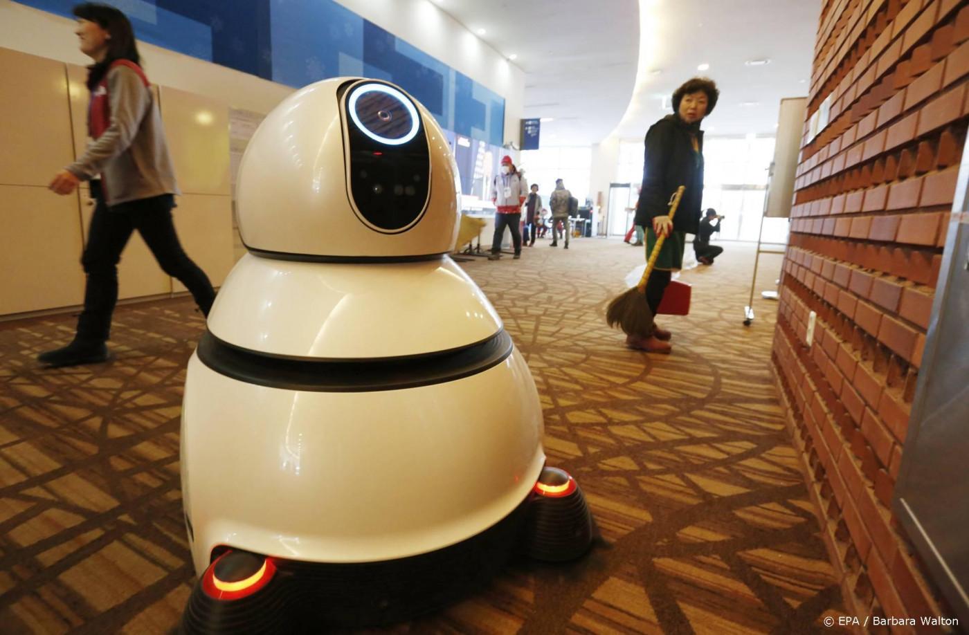 Schoonmaakrobots nemen het werk over tijdens de pandemie
